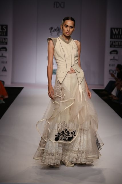 Dolly J's collection at Wills Lifestyle India Fashion Week Spring Summer 2014