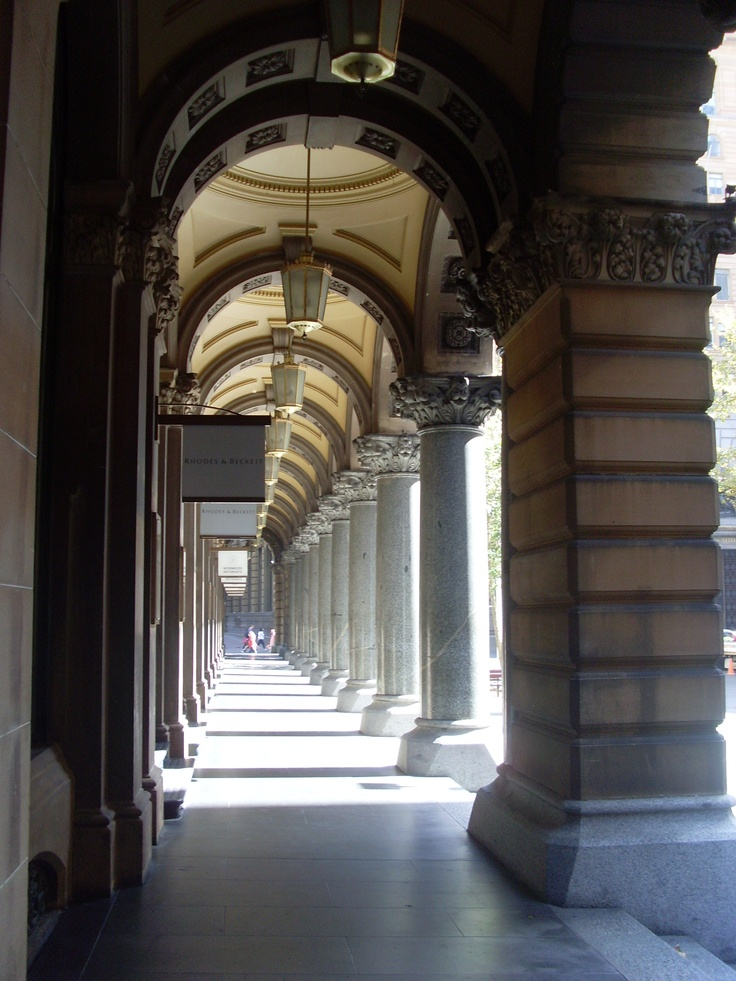 Post Office Colonnade, Martin Place, Sydney April 2012
