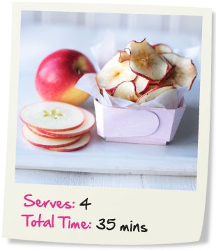 a different apple chip recipe i also hang them in our xmas tree
