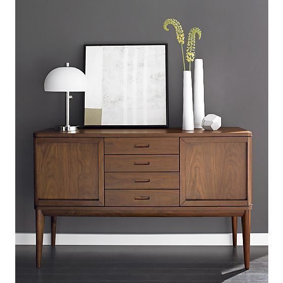 Oslo SideboardWall Colors, Ideas, Dining Room, Living Room, Oslosideboard, Furniture, Crates And Barrels, Kitchens Storage, Oslo Sideboard