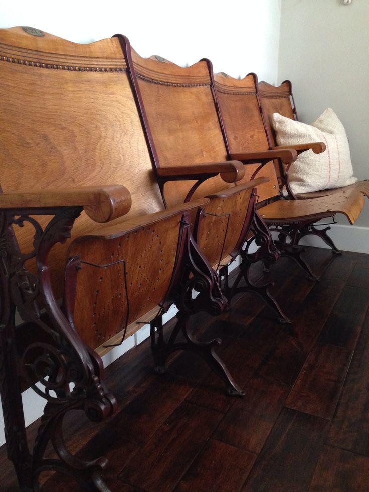 Antique theater seats | Antique & Vintage | Pinterest ...