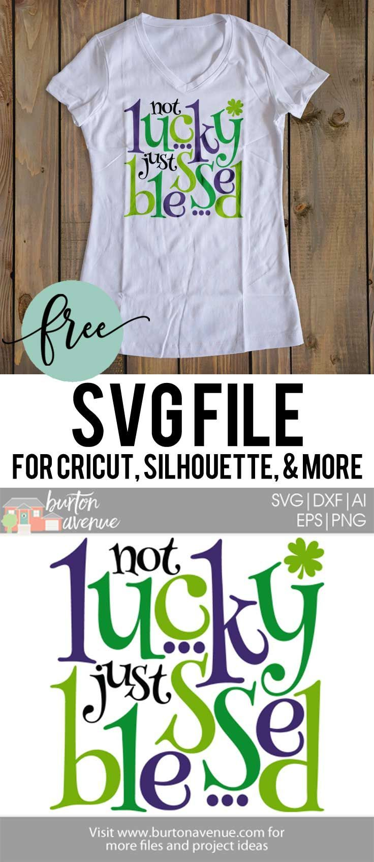 Download Download this free St. Patrick's Day SVG file for your DIY ...