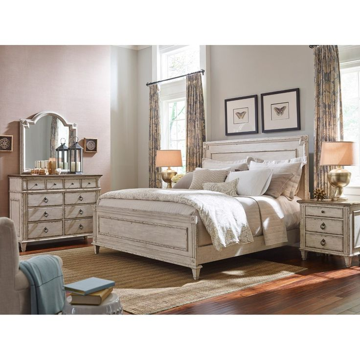SOUTHBURY Queen Bedroom Group By American Drew. Available At  Www.muellerfurniture.com Or