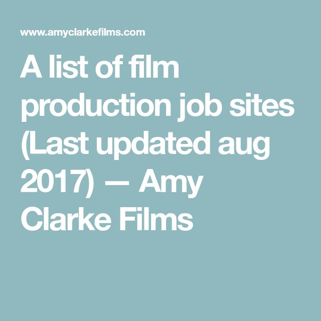 The 25+ best Film production jobs ideas on Pinterest Water - production manager job description
