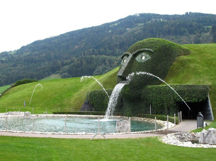 Water Features Too Extraordinary For Words