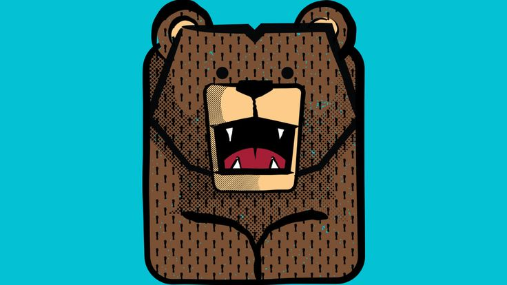 Bear. is a T Shirt designed by cmarts to illustrate your life and is available at Design By Humans