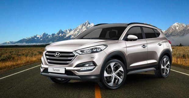 Hyundai SUV Tucson at Dealership Yard before release  http://www.oneworldnews.com/hyundai-suv-tucson-dealership-yard-release/   #trending #oneworldnews #India #news #HyundaiSUVTucson #Yard