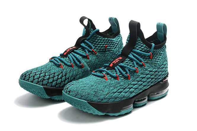pretty nice e1bb6 bc182 Cheapest And Latest New Arrival March 2018 2019 Cheap LeBron 15 XV  Christmas Sport Turquoise Black