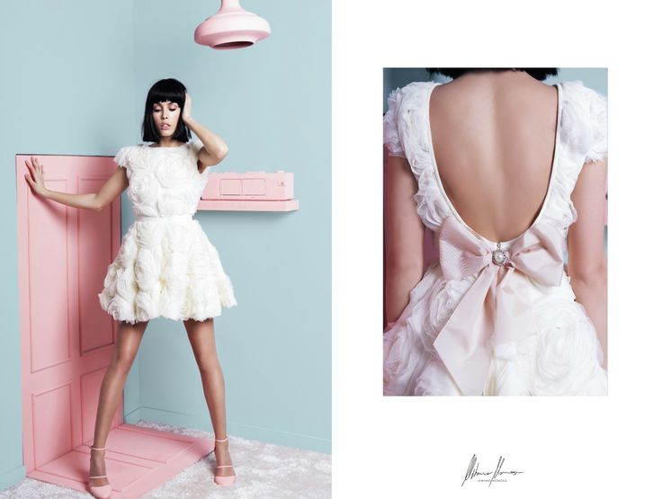 Graceful, feminine pastel coloured dresses by Mihano Momosa will be showcasing their Pre Fall collection at Pure London in August.