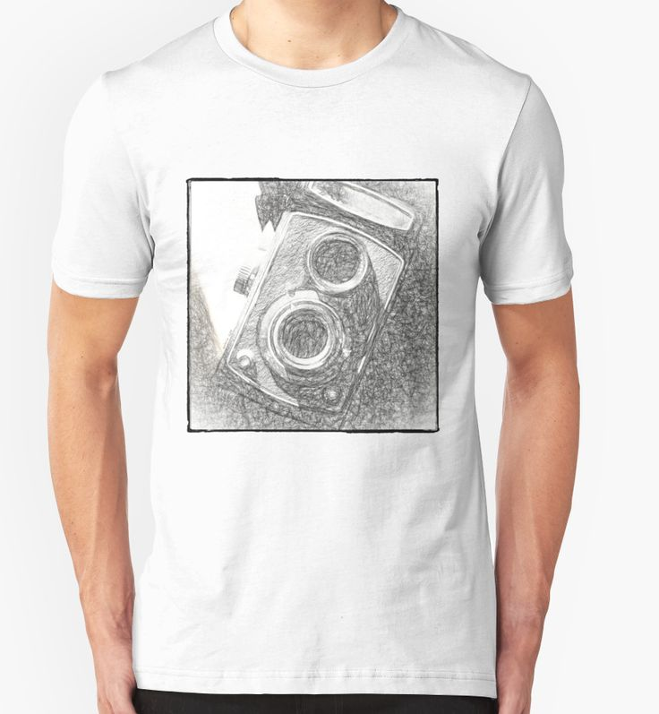 Vintage Camera - Scketch T-Shirts & Hoodies by Galerie 503