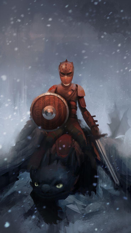 Dragon warrior by Detkef.deviantart.com on @deviantART    !!!!!!!! AWESOME!!!!!!!!!