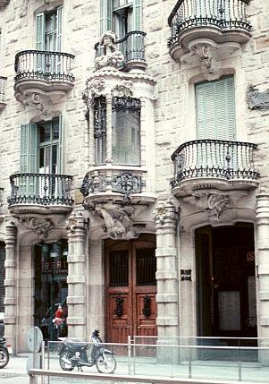 Casa Calvet by Antoni Gaudi