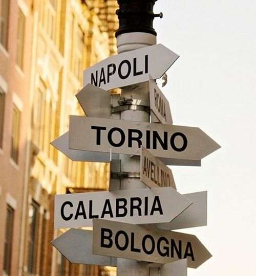 Italy!  Would love to go to Calabria also ~
