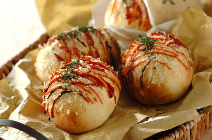 揚げずにヘルシーコロッケパン!具をたっぷり入れて食べごたえ十分!!コロッケパン[パン/その他パン]2013.02.25公開のレシピです。