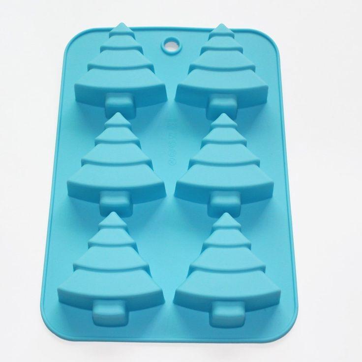 """Купить товарЕлки сосна шоколадный кекс мыло Muffine силиконовые формы в категории  на AliExpress.  Описание.        Цвет: случайный          Каждое дерево размер l: 2.9 """", вт: 2.7"""", h: 1.2""""          Вес:"""