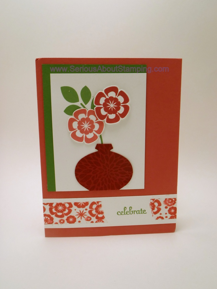DIY Washi tape card by Charmaine