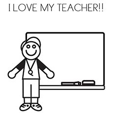 the i love my teacher