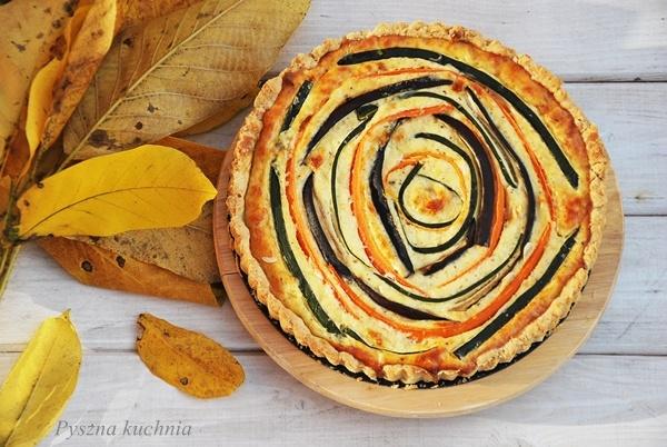 Jesienna tarta -Pyszna kuchnia