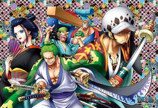 One Piece Wano Kuni Ace And Luffy Anime Animation One piece wano live wallpaper