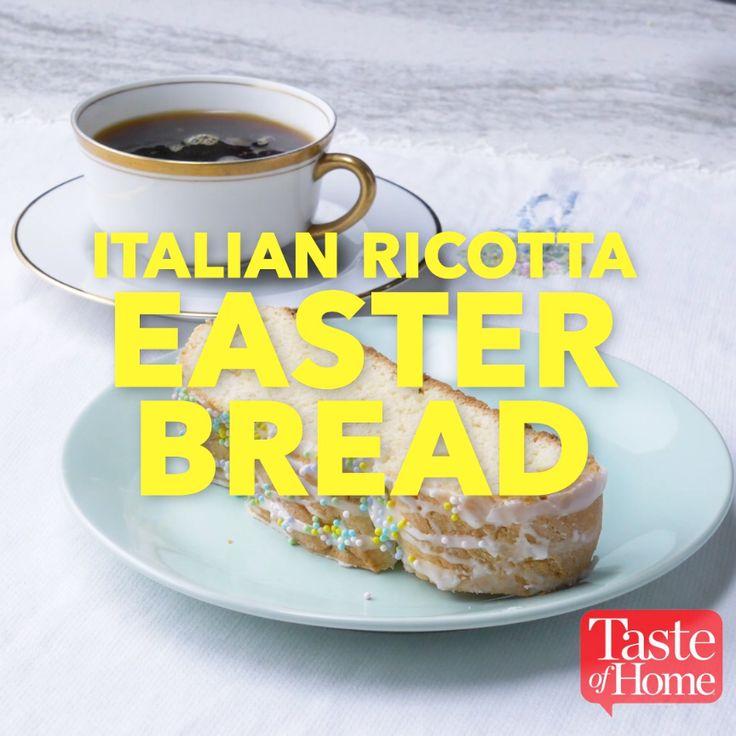 Italian Ricotta Easter Bread Recipe