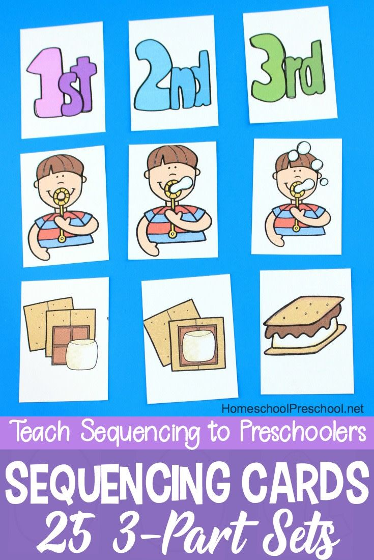 3 Step Sequencing Cards Printables For Preschoolers Sequencing Cards Sequencing Activities Preschool Sequencing Kindergarten