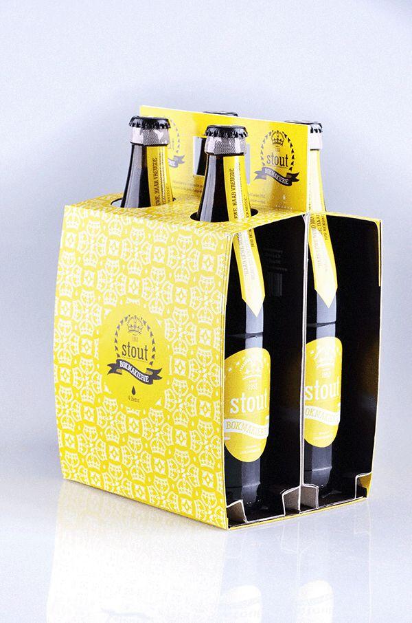 Bokmakierie - Craft beer branding on Behance