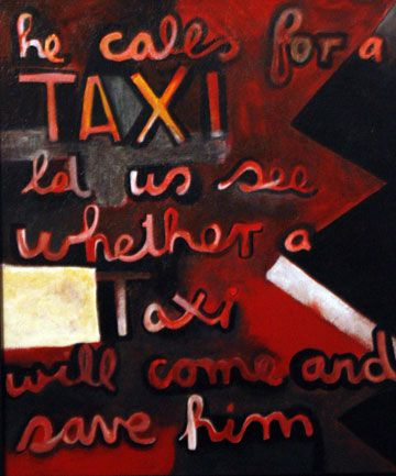 A remake of a McCahon classic by the artist Milton Springsteen.