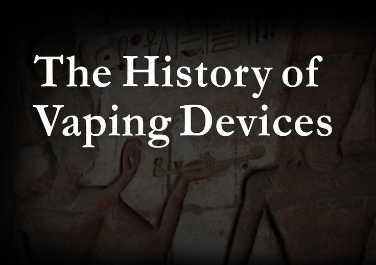 The invention of the modern electronic cigarette is one of the biggest breakthroughs in the history of the tobacco health crisis. Contrary to popular belief, vaping devices have been invented well before the early 2000's. Find out when the first vaping device was invented and how the history of vaping unfolded!