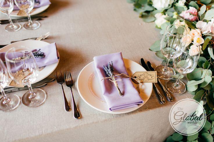 Лавандовая свадьба Декор и флористика Lavanda wedding Wedding decor
