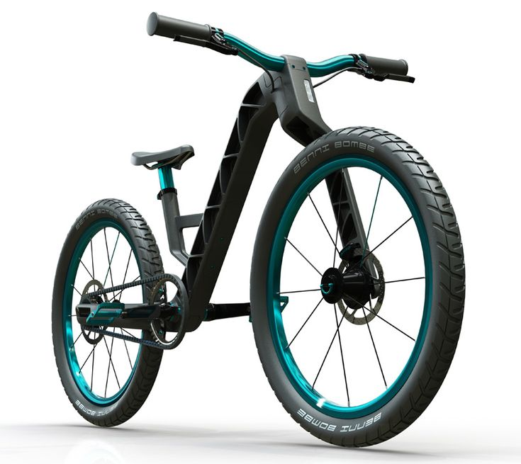 the 'growing kidzbike' has been established for children that measure 115-155 cm in height. conceived by pulse design, it rolls on a 20″ and 24″ wheel–each of which are easily changeable with a quick release mechanism. made as a three-part ultramid injection moulded frame, the bicycle features drive and brake modes mounted onto the frame, a monolink fork and back swing, integrated steering system, slidable seat post, along with a computer and lights.