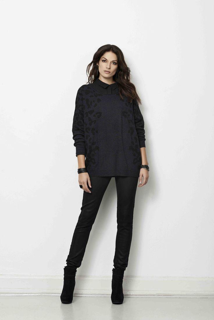 soyaconcept - knit - blouse - shirt - pants - jeans