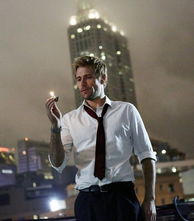 Constantine. With Matt Ryan, Emmett Scanlan, Ayo Adefila, Miles Anderson. A man struggling with his faith is haunted by the sins of his past but is suddenly thrust into the role of defending humanity from the gathering forces of darkness.