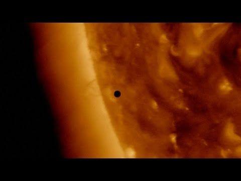 Así fue el tránsito de Mercurio entre la Tierra y el Sol 9-5-2016