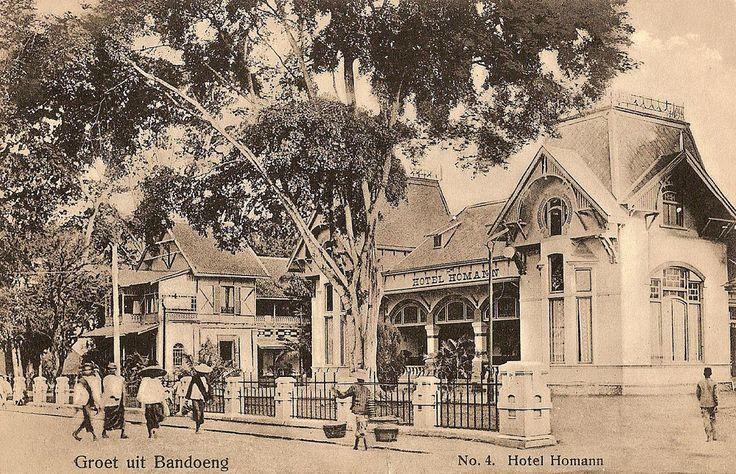 Tempo Doeloe #9 - Bandung, Hotel Homann, 1912 (for Joe)