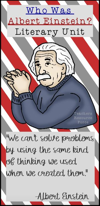Make teaching about Albert Einstein easy and engaging with this literary unit for Who Was Albert Einstein? by Catch My Products.