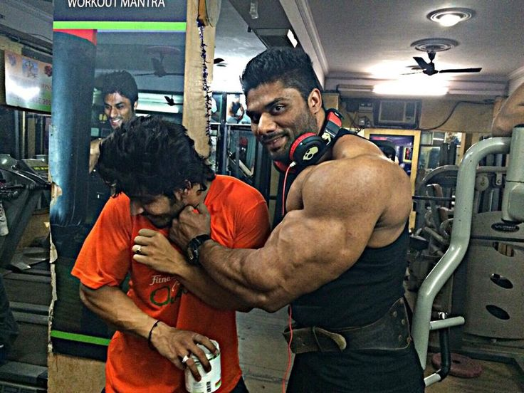 The biggest biceps in INDIA!!!!