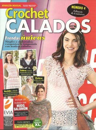 Tejido Practico Crochet Calados №4 2011