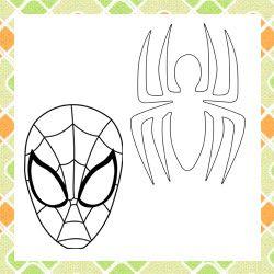 Patchwork moldes Homem-Aranha para patch aplique