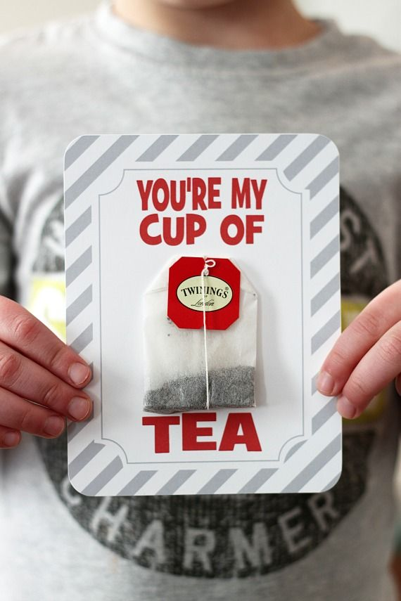 You're My Cup of Tea Valentine Printable