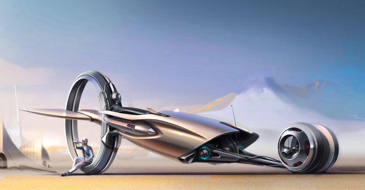 Как будут выглядеть автомобили через 20 лет по мнению украинских дизайнеров