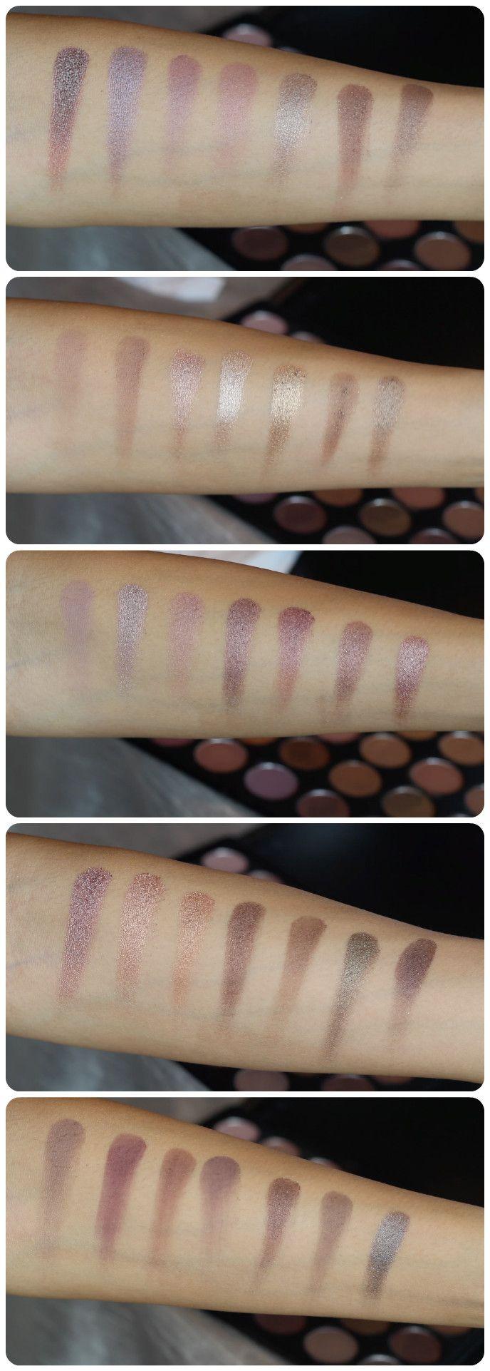 Morphe 35k eyeshadow palette review beauty in bold - Review Swatches Morphe Brushes 35t Eyeshadow Palette