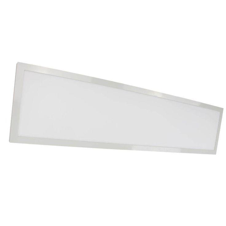 Nuvo Lighting 1ft X 4ft LED Flat Panel 37W (White) (Aluminum)