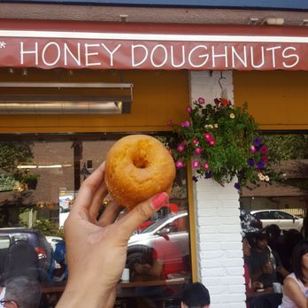 Photo of Honey Doughnuts & Goodies - North Vancouver, BC, Canada. Famous honey donut