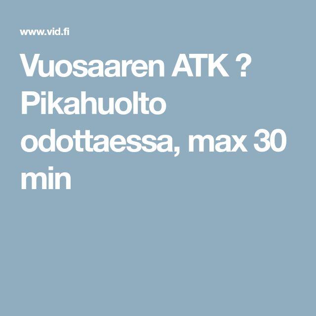 Vuosaaren ATK ➟ Pikahuolto odottaessa, max 30 min