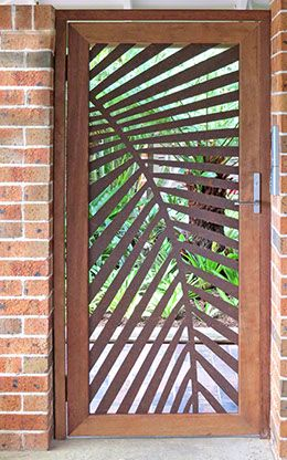 Urban Design Systems - Laser Cut Metal Screens