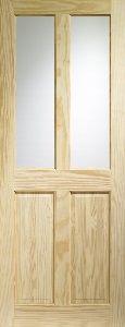 Victorian Pine Clear Glazed Internal Door