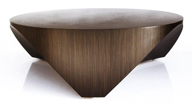 William Earle The Barrens round wood cocktail table design 2010 For Sale at 1stdibs