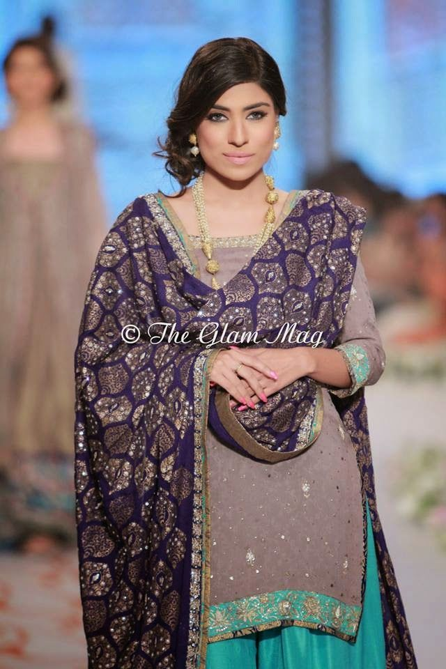 Nida Azwer Collection at Pantene Bridal Couture Week 2014 | Nida Azwer Bridal Dresses 2014-2015 - Fashion Hunt World | That Makes You Different