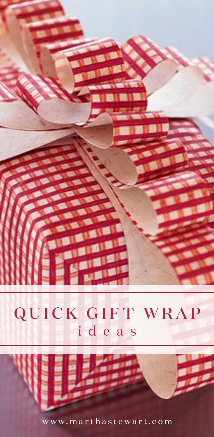 Quick Gift Wrapping Ideas Creative Wraps And Focus On