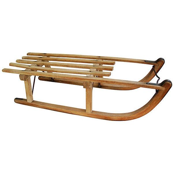 Pre-Owned Midcentury Child's Snow Sled ($199) ❤ liked on Polyvore featuring home, home decor, holiday decorations, decorative accessories, holiday decor, mid century modern home decor and holiday home decor